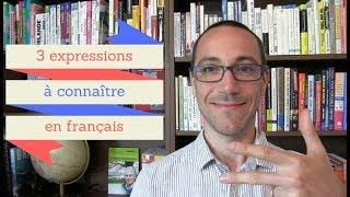 3 expressions pour démarrer une discussion en français