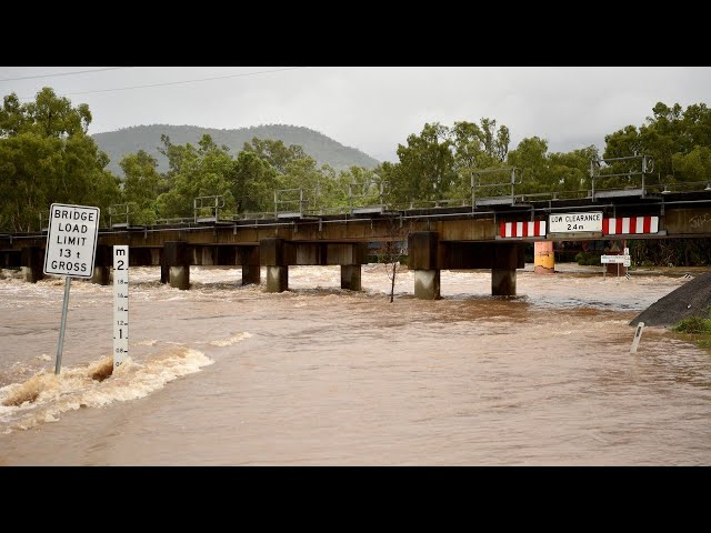 North Queensland hit by flash flooding