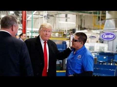 Carrier employee: Donald Trump saved my job