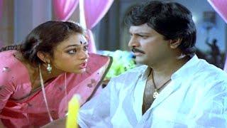 Alludugaru Movie || Mohan Babu, Shobana Hilarious Comedy Scene || Mohan Babu, Shobana