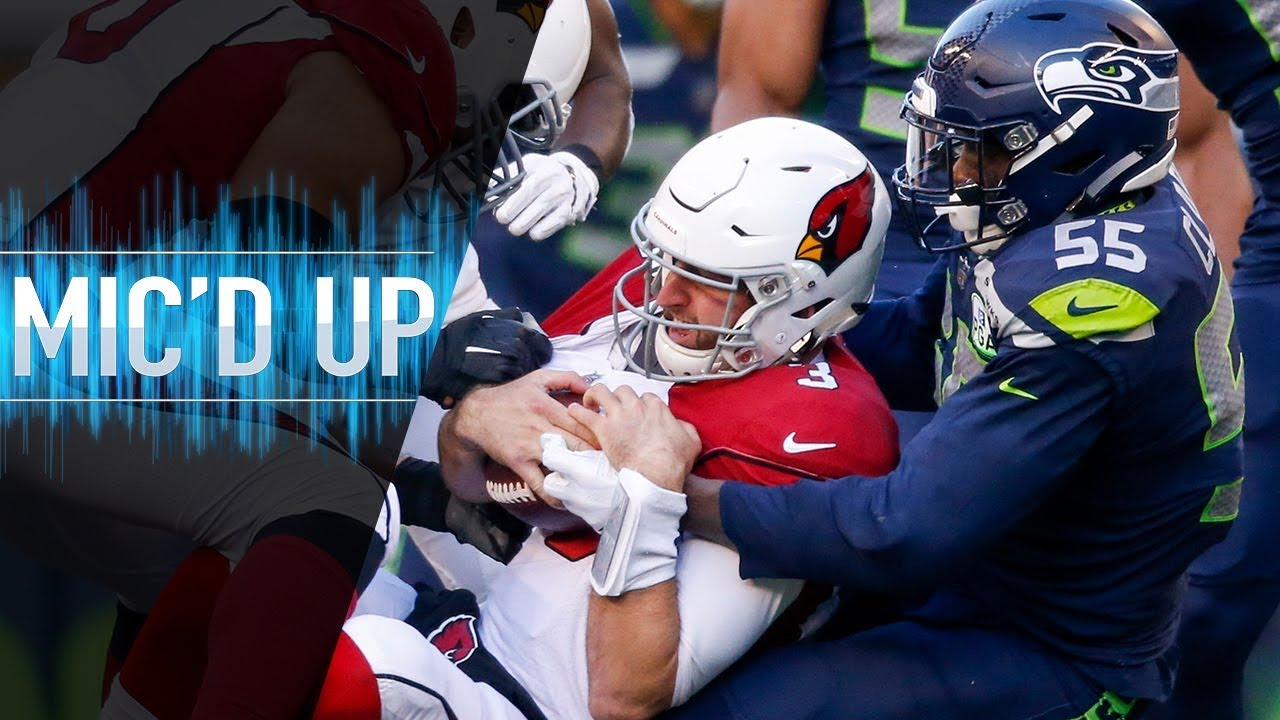 "Frank Clark Mic'd Up vs. Cardinals ""I eat blood"" 