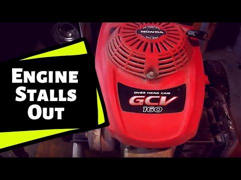 Honda Engine Pressure Washer: [Won't Stay Running][Stops Running Suddenly] (2019)