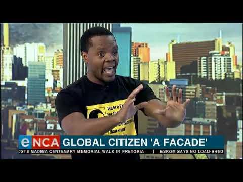 Mcebo Dlamini: Global Citizen is a 'facade'