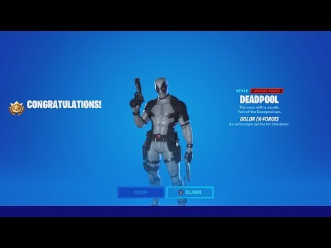 HOW TO ACTUALLY UNLOCK THE X-FORCE DEADPOOL STYLE IN FORTNITE (How To Get X-Force Deadpool)