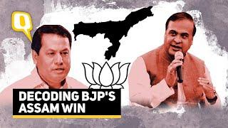 Assam Election Results 2021   How BJP Won Assam   The Quint