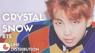 BTS - Crystal Snow | Line Distribution