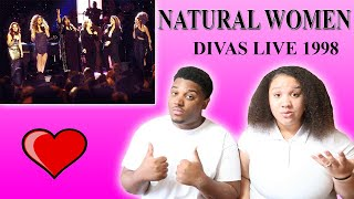 DIVAS LIVE 1998 - Natural Woman| Reaction