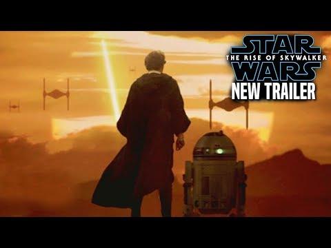 The Rise Of Skywalker New Trailer HUGE News Revealed! (Star Wars Episode 9 Trailer 3)