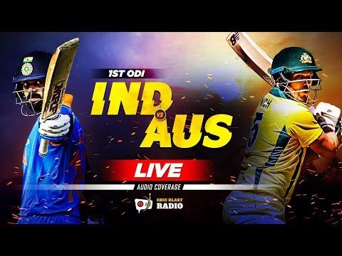 LIVE: IND vs AUS 1st ODI | Live Cricket Match Scores, Fan Chit-Chat & Analysis 📻