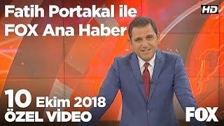 Muhalefetten hükümete enflasyon tepkisi! 10 Ekim 2018 Fatih Portakal ile FOX Ana Haber