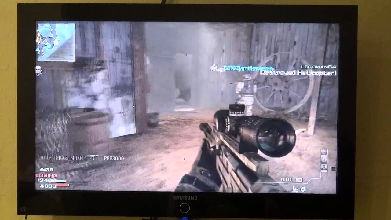 How to quickscope on call of duty modern warfare 3: 5 steps.