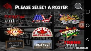 Wrestling Revolution 3D Custom Real Life Roster Part 2