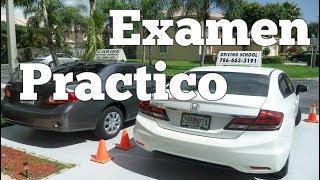 EXAMEN PRACTICO DE MANEJO /CONSEJOS PARA ESTACIONAR AUTOS /TRES PUNTOS conducir manejar carros