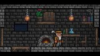 How to make an alchemy station in Terraria! A beginners guide!
