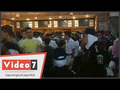 الشرطة النسائية تتمركز بوسط البلد أمام دور السينما لضبط المتحرشين  - 22:22-2017 / 6 / 25