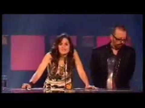 Kara DioGuardi Dave Stewart - UK Music Hall Of Fame