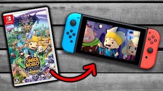 Así es SNACK WORLD para Nintendo SWITCH 😃 NUEVO JUEGO RPG en ESPAÑOL   Gameplay