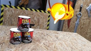 EXPERIMENT: LAVA vs FLEX TAPE