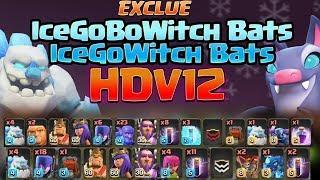 COMPOS EXCLUSIVES HDV12   Golem de Glace & Chauves-Souris   IceGoBWitch Bats & IceGoBoWitch Bats