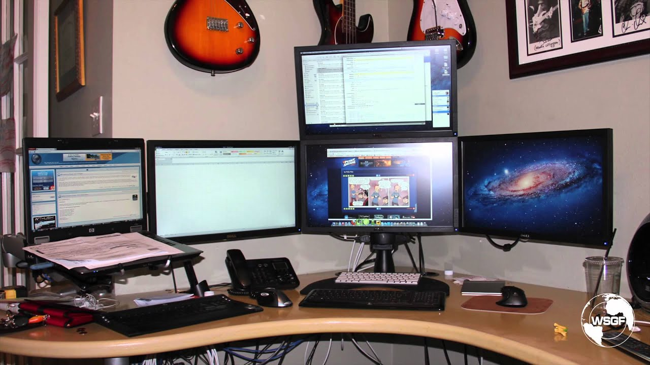 Development Of The Wsgf Edition Multi Monitor Stand Youtube