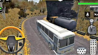 Bus Simulator Free Mountain Drive 3D Android Mobile/Tablet Gameplay For Kids