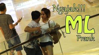 Video TONTON!! GILA CEWEK NGAJAKIN ML PRANK INDONESIA download MP3, 3GP, MP4, WEBM, AVI, FLV November 2018