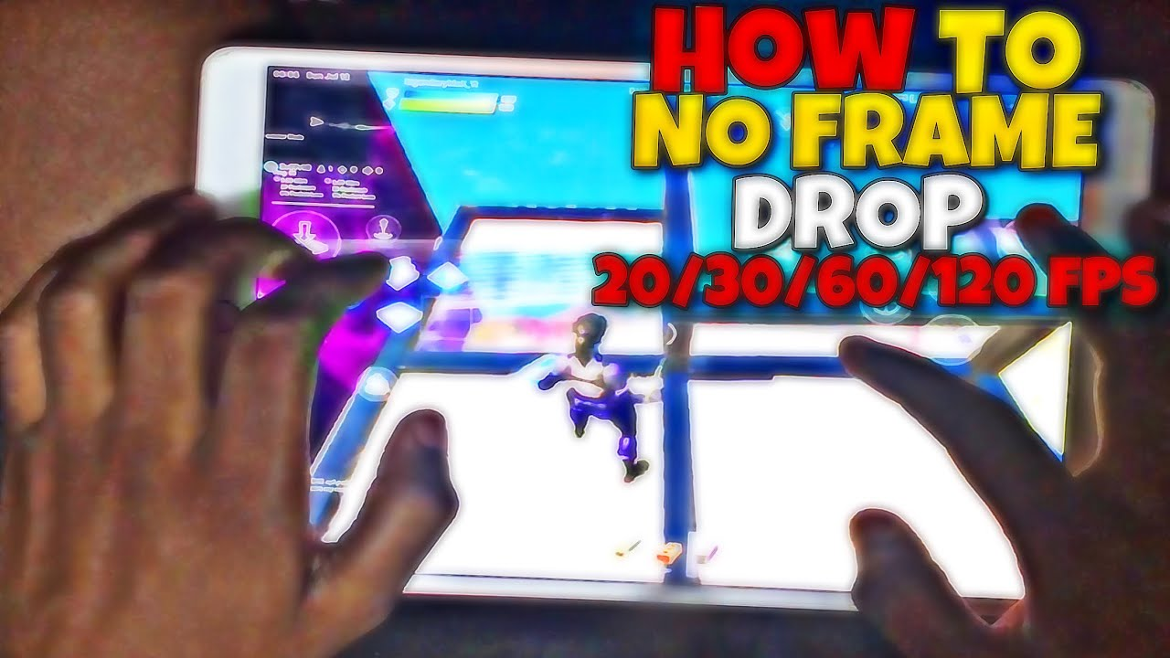 How to get Less Frame Drop In Fortnite Mobile- Chapter 2 Season 3