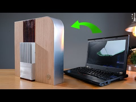 Transform a laptop into a stunning desktop media PC (for CHEAP)