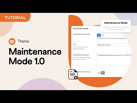 Maintenance Mode | BuddyBoss Themes Tutorials