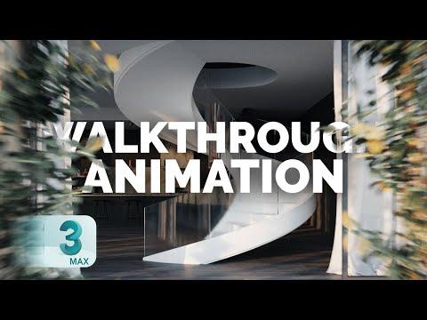 Walkthrough Animation In 3ds Max   Camera Walkthrough Tutorial