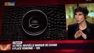 Ultreïa nouvelle marque de caviar