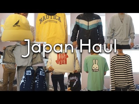 Japanese Vintage/Streetwear Clothing Haul (Try-On)