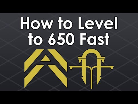 Destiny 2: How to Level Up to 650 Fast in Forsaken/Black Armory