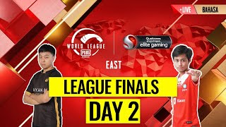 [BAHASA] PMWL EAST - League Finals Day 2 | PUBG MOBILE World League Season Zero (2020)