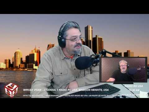 Radio RO USA - Cafeaua de Dimineata - 10.22.2016 - Invitat, Gheorghe Chindris