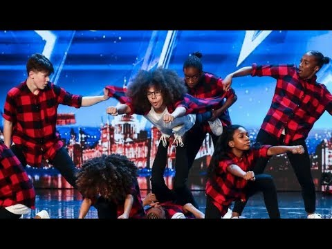 Ashley Banjo S Diversity Junior Dance Act Smash The Bgt Stage Britain S Got Talent 2018 Youtube
