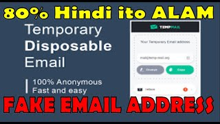 🔴FAKE EMAIL-ADDRESS 2020 - [How to USE and CREATE]