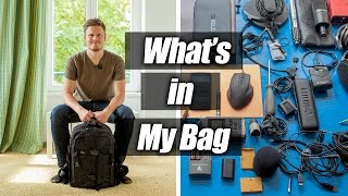 What's in my bag – Travel, Film & Edit Anywhere (Video & Audio Gear overview)
