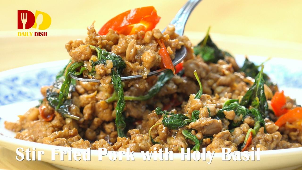 Holy Basil Thai Food