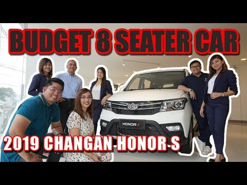 Budget 8 Seater Car Changan Honor S Extensive Review Philippines