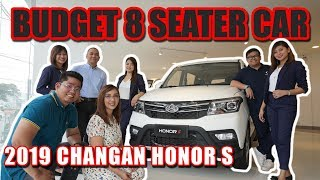 Budget 8 Seater Car : Changan Honor S Extensive Review Philippines