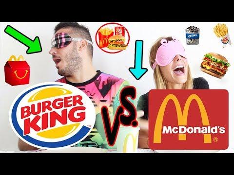 MC DONALD vs BURGER KING