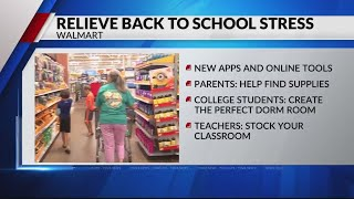 Walmart Launches New Back-to-School Campaigns