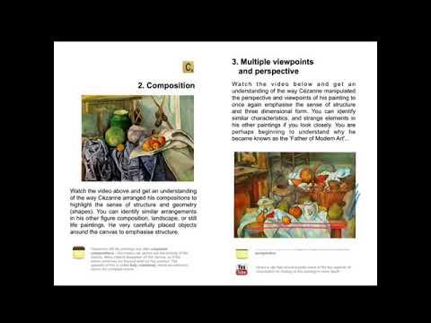 Paul Cézanne Digital Book resource - National 5 & 6