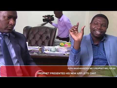 Troubled Min Supa Mandiwanzira met Prophet Walater Magaya