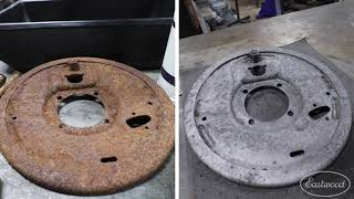 The EASIEST Way to Chemically Remove Rust - Rust Dissolver - Eastwood