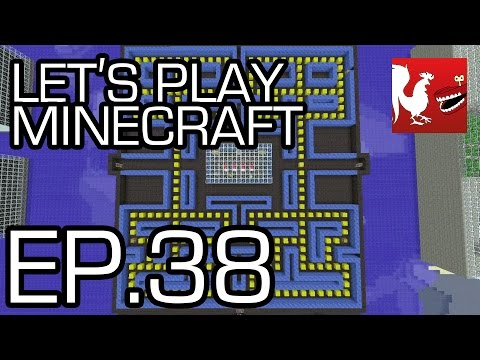 Let's Play Minecraft - Episode 38 - Pac-Man | Rooster Teeth
