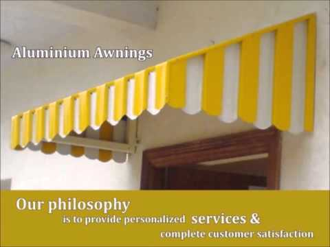 Window Awnings in Delhi, Latest Awnings Design, Wide Range Of High Quality Retractable Awnings Delhi