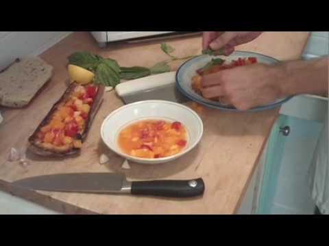 AmericanSafari.org - Diner with Nino (Bruschetta)