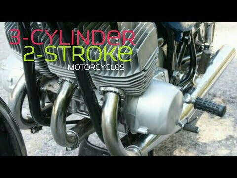 3- cylinder 2-stroke motorcycles
